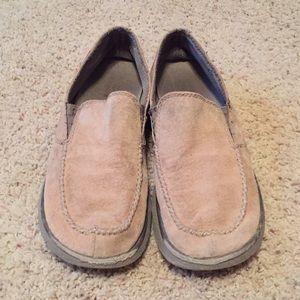2203b170 Patagonia Shoes | Maui Forge Black Moccasin Slippers Mens | Poshmark